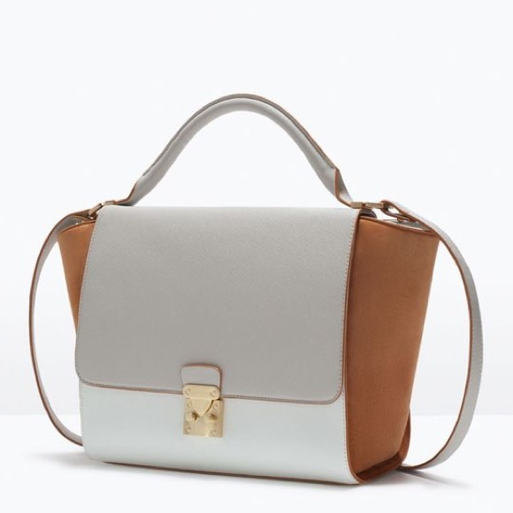 5aa678d61b2 Zara combined city bag with buckle. M_5abafdf3a4c48507d7868460